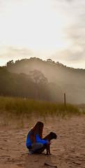 Good bye little girl, we'll miss you 🐕 (diegocarreraperez) Tags: lúa dog perro amor love pure puro boxer asturias death miss playa beach sand arena water agua norte north rodiles mascota pet friend amigo