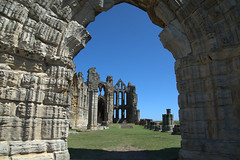 Images of Whitby Abbey (Tony Worrall) Tags: yorkshire yorks scene scenery northyorkshire resort yorkshirephotos east eastern seasidetown holidays tourists coast photographsofwhitby whitbyphotos whitby north update place location uk england visit area attraction open stream tour country item greatbritain britain english british gb capture buy stock sell sale outside outdoors caught photo shoot shot picture captured ilobsterit instragram iconic ruins heritage church tourist whitbyabbey stone historic entrance doorway arch