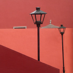outside rosewood (msdonnalee) Tags: outdoorlighting graphic mexico mexique mexiko messico minimalism hotel lampost architecture geometry