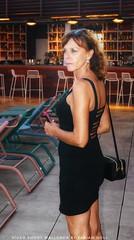 Silke Fischer - Mallorca Auswanderin  Santa Ponsa (3) (Video Shoot Mallorca) Tags: silkefischer mallorca rooftopbar rooftop9magaluf magaluf santaponsa auswandern auswandernmallorca katzenbergerfreundin dress blackdress fashion model mode schuhe style styliing