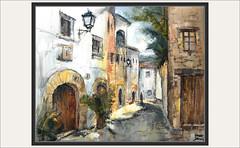 ALBINYANA-PINTURA-CARRER MAJOR-PREMIS-CONCURS-PAISATGES-CARRERS-POBLES-BAIX PENEDÈS-TARRAGONA-QUADRES-PINTOR-ERNEST DESCALS- (Ernest Descals) Tags: albinyana carrermajor ajuntament concurs concurso concursos pintura premis premio premios carrers pobles publos village baixpenedès tarragona catalunya catalonia cataluña poble profundidad art artwork arte pintures pinturas premiados cuadros quadres premiadas pintors pintores pintor pintar paisatge paisatges mar luz luces light macetas casas arboles ventanas puertas painter painters awards paintig paintings paint pictures paisaje paisajes landscape landscaping obras plastica ernestdescals artistes artistas plasticos mediterraneo calles