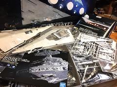The Empire Strikes Back (Shu Sugamata) Tags: spaceship starship starwars space stardestroyer executor plasticmodel blockade empire imperial destroyer super