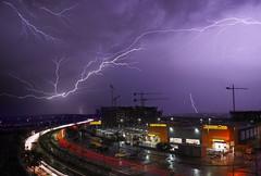 Desde la ventana (Chusmaki) Tags: ngc rayos noche rivas tormentas