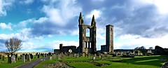 Ruins of St Andrew's Cathedral (Valantis Antoniades) Tags: ruins st andrews cathedral scotland church sky cloud