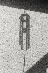 Chime shadow (shift289) Tags: panf asa50 canonae1program bw fpp