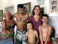 Singing Happy Birthday (RobW_) Tags: ritsa rory jacqui alex sammy singing happy birthday celebration tsilivi zakynthos greece saturday 10aug2019 august 2019