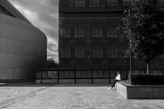 DSC03468 solo (alubavin) Tags: streetphotography street blackandwhite monochrome solo shadows contrast urban city sonyrx100m4 sony rx100