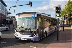 First YY16YLT (Mike McNiven) Tags: first firstgroup sheffield crystalpeaks alexanderdennis enviro200 enviro200mmc mmc railwaystation olivegrove depot yorkshire southyorkshire