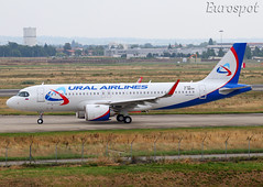 F-WWDH Airbus A320 Neo Ural Airlines (@Eurospot) Tags: vpbrz fwwdh airbus a320 neo 9169 toulouse blagnac uralairlines