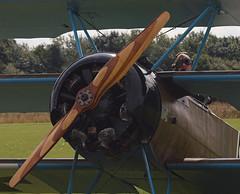2019_08_0066 (petermit2) Tags: fokkerdr1triplane fokkerdr1 fokker dr1 triplane greatwardisplayteam eastkirkbyairshow2019 eastkirkbyairshow eastkirkby airshow spilsby lincolnshire