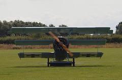 2019_08_0063 (petermit2) Tags: fokkerdr1triplane fokkerdr1 fokker dr1 triplane greatwardisplayteam eastkirkbyairshow2019 eastkirkbyairshow eastkirkby airshow spilsby lincolnshire