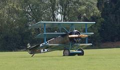 2019_08_0061 (petermit2) Tags: fokkerdr1triplane fokkerdr1 fokker dr1 triplane greatwardisplayteam eastkirkbyairshow2019 eastkirkbyairshow eastkirkby airshow spilsby lincolnshire