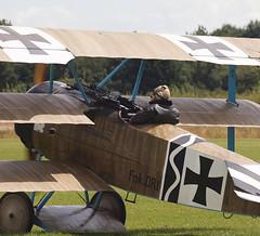 2019_08_0137 (petermit2) Tags: fokkerdr1triplane fokkerdr1 fokker dr1 triplane greatwardisplayteam eastkirkbyairshow2019 eastkirkbyairshow eastkirkby airshow spilsby lincolnshire