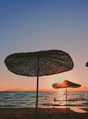 (havvagul) Tags: sunset beach sun sea turkey milas view wave water waterscape sunsetcolour sunsetview seaside colours