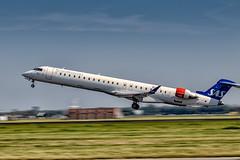 SAS Scandinavian Airlines CRJ-900 (spl_aviation) Tags: schiphol sas bombardier crj crj900 36l polderbaan 77d canon aviation photography plane spotting planes