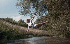 (dimitryroulland) Tags: nikon d750 85mm 18 dimitryroulland performer art artist dance dancer nature natural light water summer cerceau aerial aerien glamour fitness