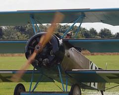 2019_08_0065 (petermit2) Tags: fokkerdr1triplane fokkerdr1 fokker dr1 triplane greatwardisplayteam eastkirkbyairshow2019 eastkirkbyairshow eastkirkby airshow spilsby lincolnshire