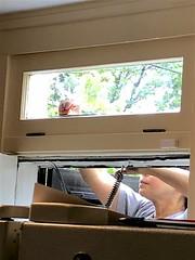 Transom Window (oxfordblues84) Tags: kitchen kitchenrenovation subwaytilebacksplash tileinstallation walltileinstall walltileinstallation house home interior transomwindow window woman