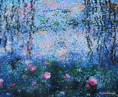 After Claude Monet N37 (Angela.B) Tags: claudemonet painting art walldecor polymerclay fimo