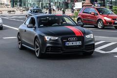 Poland Indiv. (Mazowieckie) - Audi RS5 Coupé B8 2012 (PrincepsLS) Tags: poland polish individual license plate w mazowieckie warsaw spotting mirin audi rs5 b8 2012