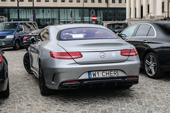 Poland Indiv. (Mazowieckie) - Mercedes-Benz S 63 AMG Coupé C217 (PrincepsLS) Tags: poland polish individual license plate w mazowieckie warsaw spotting