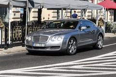 Poland Indiv. (Mazowieckie) - Bentley Continental GT (PrincepsLS) Tags: poland polish individual license plate w mazowieckie warsaw spotting tr1 bentley continental gt