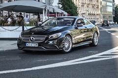 Poland Indiv. (Mazowieckie) - Mercedes-AMG S 65 Coupé C2017 (PrincepsLS) Tags: poland polish individual license plate w mazowieckie warsaw spotting mercedesamg s 65 coupé c217