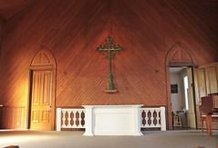Old St. Hilary's Altar (skipmoore) Tags: tiburon oldsthilarys church altar crucifix cross