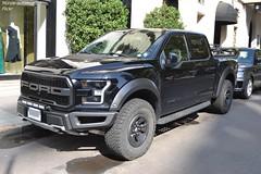 Ford F150 Raptor (Monde-Auto Passion Photos) Tags: voiture vehicule auto automobile ford f150 raptor pickup noir black sportive rare rareté georgev france paris