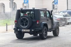 Poland Indiv. (Mazowieckie) - Jeep Wrangler (PrincepsLS) Tags: poland polish individual license plate w mazowieckie warsaw spotting beer jeep wrangler