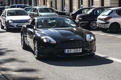 Poland Indiv. (Mazowieckie) - Aston Martin DB9 (PrincepsLS) Tags: poland polish individual license plate w mazowieckie warsaw spotting db9 aston martin