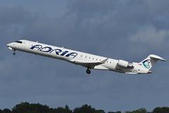 S5-AFC Bombardier CRJ900 EGCC 18-08-19 (MarkP51) Tags: s5afc bombardier crj900 adriaairways jp adr manchester airport man egcc england airliner aircraft airplane plane image markp51 nikon d500 sunshine sunny nikon200500f56vr
