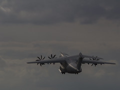 Into the Sunset (Hawkeye2011) Tags: aircraft aviation airshow airbus a400m riat raffairford uk 2019 military transport spanish