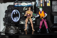 Joker and Henchman (misterperturbed) Tags: batsignal clownprinceofcrime dccomics mezco mezcoone12collective one12collective phicen tbleague thejoker seamless