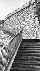Stairway (Kulawy Strzelec) Tags: 2018 europa europe october październik autumn fall jesień nokia michalkawecki sardinia sardynia sardegna posada town miasto italia italy włochy blackandwhite bw minimalist stairs nuoro