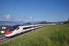 🇨🇭 EC 320 @ Horgen Oberdorf (Wesley van Drongelen) Tags: sbb cff ffs schweizerische bundesbahnen chemins de fer fédéraux federaux suisses ferrovie federali svizzere swiss federal railways fs stato ti trenitalia etr 610 pendolino cisalpino due neigezug ec eurocity 320 ec320 horgen oberdorf trein train zug treno etr610