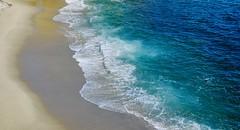 Sand, Sea and Surf (remiklitsch) Tags: nikon montage lagunabeach ocean blue surf sea sand remiklitsch