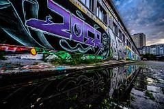 Grafitti Gallary (blende9komma6) Tags: grafitti gallary hannover linden germany reflexion art streetart urban city colorful farbenfroh nikon z6 kunst farbe wall wand galerie