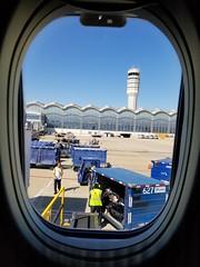 Washington, DC Reagan National Airport (army.arch) Tags: washington districtofcolumbia dc arlington virginia va national reagannational airport césarpelli window plane airplane