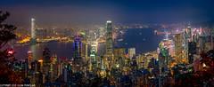 DSC_7123-Pano: Hong Kong skyline (Colin McIntosh) Tags: hongkong 50mm 2019 lugardroad nikon focus h f2 manual d610 ngc