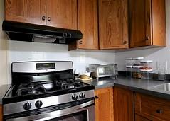 Kitchen After Renovation (oxfordblues84) Tags: kitchen kitchenrenovation interior house home kitchencabinets wall cabinetsbase cabinetscountertopovenrangestoveexhaust hoodoven hoodrange hoodtoaster oven