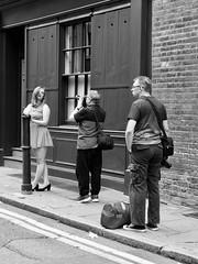 IMG_1160685 (Kathi Huidobro) Tags: urban bw london monochrome blackwhite model photoshoot candid streetphotography bricklane peoplewatching reportage eastlondon londonlife photographers
