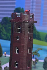 Edgbaston Water Tower (CoasterMadMatt) Tags: park sculpture amusement model lego centre models structure theme discovery legoland themeparks miniland discoverycentre indoorthemepark legomodels englishthemeparks themeparksinengland legolandbirmingham legolanddiscoverycentrebirmingham birminghamminiland legolanddiscoverycentrebirmingham2019 tower water watertower edgbaston edgbastonwatertower build builds inlego legobuilds birminghaminminiature westmidlandsinlego landmarks landmark landmarksinlego uk greatbritain winter england west photography march birmingham photos unitedkingdom britain photographs gb westmidlands attraction attractions midlands brindleyplace nikond3200 2019 themidlands merlinentertainments coastermadmatt coastermadmattphotography march2019 winter2019 legolandparks europe birminghamattractions