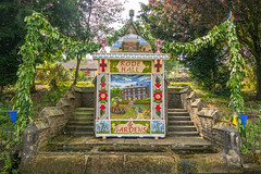 Wormhill Well Dressing 2019 (little mester.) Tags: wormhill welldressing2019 derbyshire derbyshirepeakdistrict rodehall derbyshiretradition