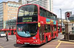 Arriva DW98 (LJ54BFY). (Fred Dean Jnr) Tags: london august2019 uk england londonbus bus arriva arrivalondon wright wrightbus gemini2 croydon parklanecroydon vdl db250 pulsar gemini dw98 lj54bfy deliviroo
