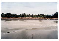 (schlomo jawotnik) Tags: 2019 juli elbeseitenkanal kanal wasserstrase wasser binnenschiff binnenschifffahrt ufer welle spiegelung analog film kodak kodakproimage100 usw