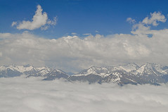 Mountains / Горы (SerenitySS) Tags: mountains fog sky clouds snow spring may ridge top beautiful stunning nice wonderful greatshot exquisite excellent coth5 gorgeous amazing natureinfocusgroup fabulous