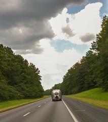 Roadside America (Dave* Seven One) Tags: usa america roadsideamerica airstream rv traveltrailer camper camping clouds trees sky vintage classic