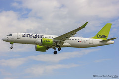 Air Baltic / Airbus A220-300 / YL-CSH (duartemanhita spotter) Tags: airport airplane airlines airbus airbuslovers avião aviation a220 a220300 airbusa220 airbus220 airbaltic baltic air airways spotter afternoon fly follow followme views cockpit commercialflight canon canonaviation cargoflight canondslr canoneos canonphotos canonuser cloud planespotter plane photographer photooftheday lisbonairport lisbon lppt like land
