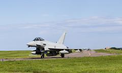 ZK431 Typhoon, Lossiemouth (wwshack) Tags: egqs elgin eurofighter lmo lossiemouth moray raf raflossiemouth royalairforce scotland typhoon zk431